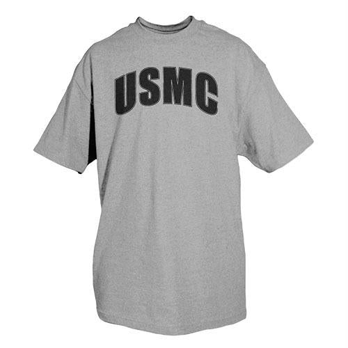 Physical Training Imprinted T-shirt - M / USMC / Heather Grey