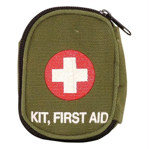 Soldier Individual First Aid Empty Pouches - Olive Drab