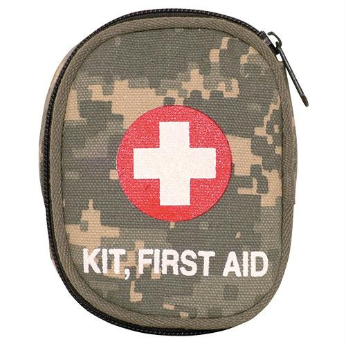 Soldier Individual First Aid Empty Pouches - Terrain Digitial