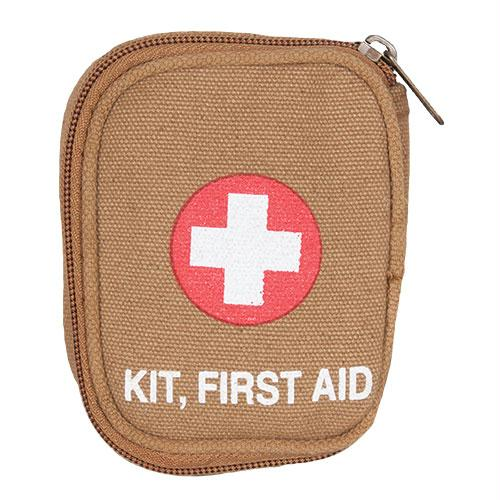 Soldier Individual First Aid Empty Pouches - Coyote