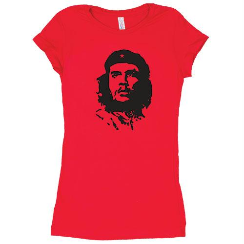 Women's Cotton Tee's - Che Guevara / Red / XL