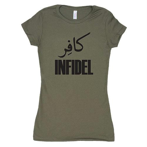 Women's Cotton Tee's - Infidel / Olive Drab / L