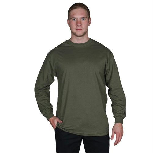 Long Sleeve T-shirt - Olive Drab / L