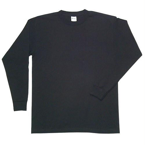 Long Sleeve T-shirt - Black / XL