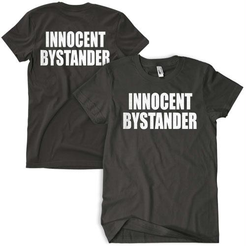 Two-sided Imprinted T-shirt - M / Serve & Protect / Navy