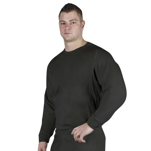 Ecwcs Extreme Cold Weather Polypropylene Underwear (tops) - Black / M / Crewneck Top