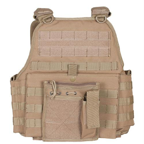 Big & Tall Vital Plate Carrier Vest - Coyote