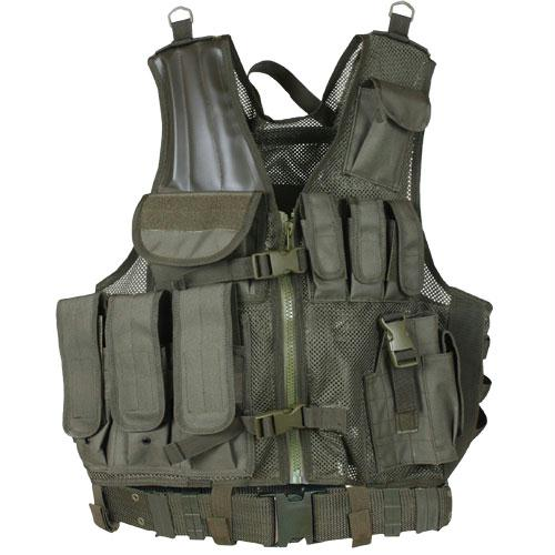 Mach-1 Tactical Vest - Olive Drab