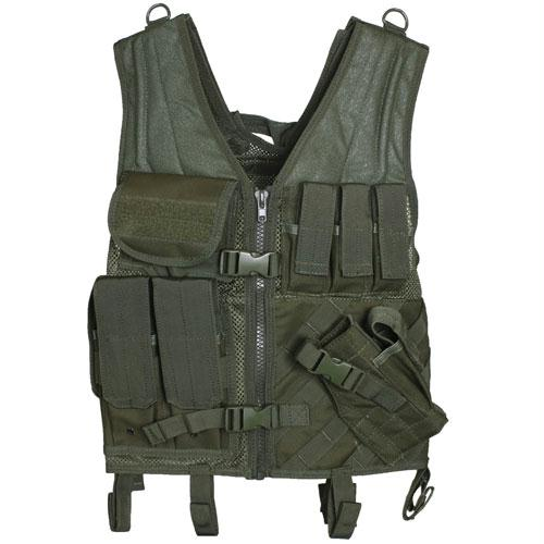 Assault Cross Draw Vest - Olive Drab