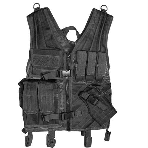 Assault Cross Draw Vest - Black