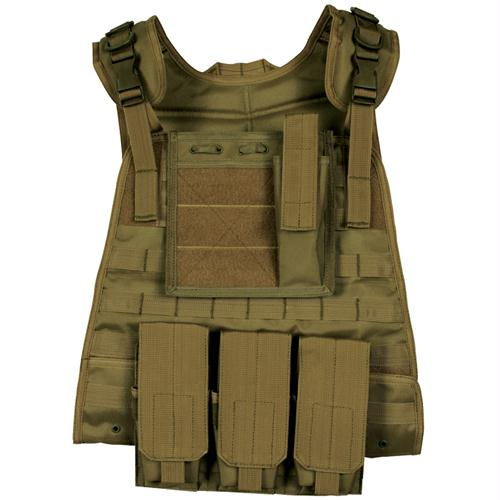 Modular Plate Carrier Vest - Coyote