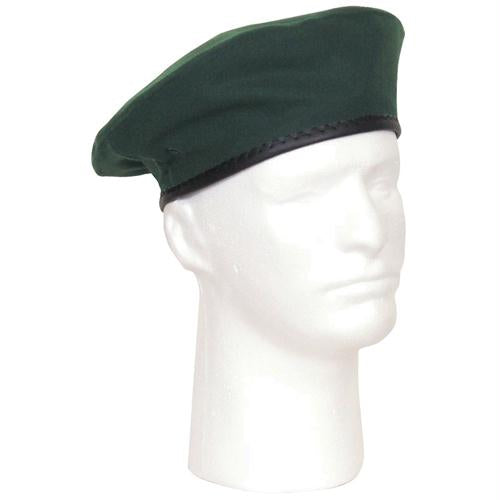 Military Beret - Spruce / 7 1/2