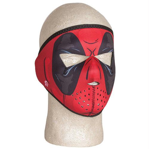 Youth Neoprene Face Mask - Full - Red Dawn