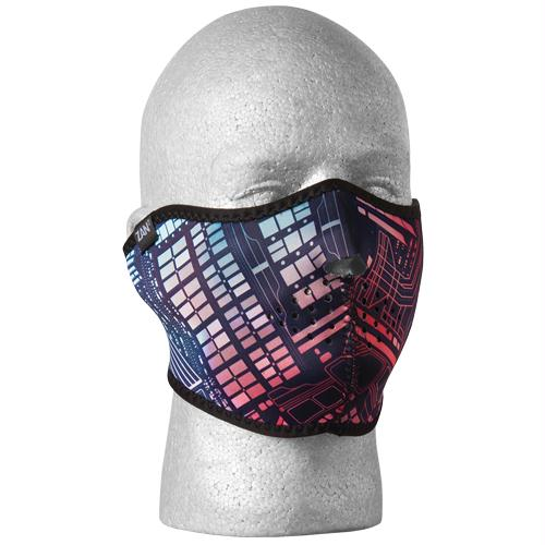 Blue Line Neoprene Thermal Half Mask