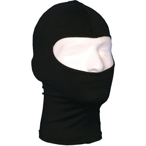 Balaclava With Extended Neck - Black