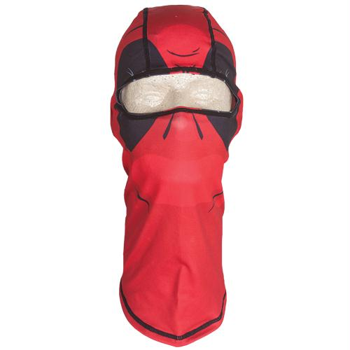 Polyester Balaclava - Red Down