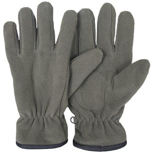 Insulated Military Style Fleece Gloves - Olive Drab / M