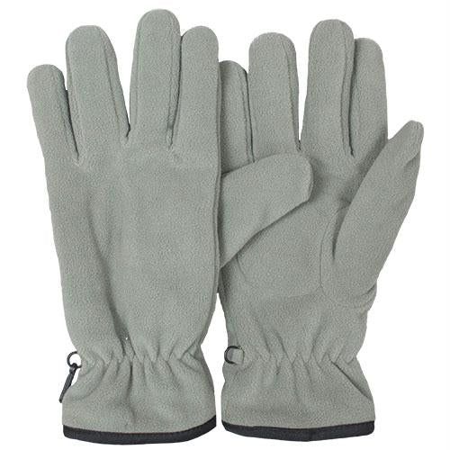 Insulated Military Style Fleece Gloves - Foliage / L