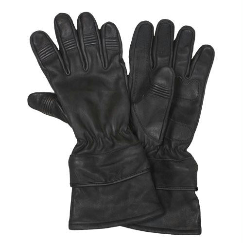All Leather Motorcycle Gloves - L