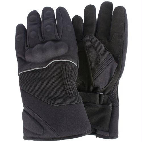 Deluxe Cold-weather Hard Knuckle Gloves - L