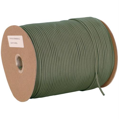 Nylon Type Iii Commercial Paracord - 1200' - Olive Drab