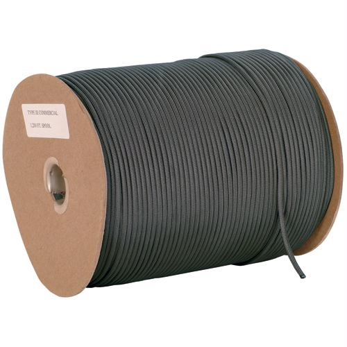 Nylon Type Iii Commercial Paracord - 1200' - Black