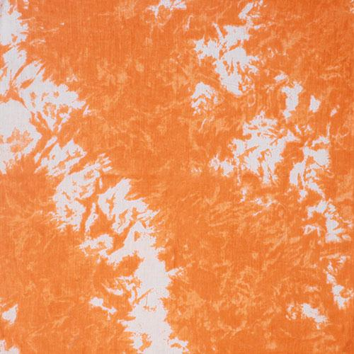 Cotton Bandanna - Orange Tie Dye