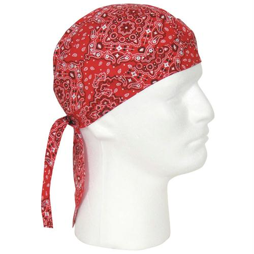 Headwraps - Red Paisley