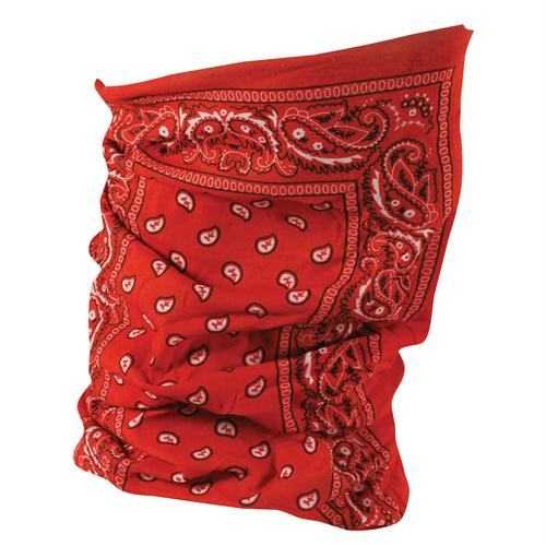 Motley Tube - Red Paisley