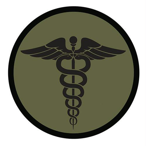 Medical & Morale Patches - EMS - Olive Drab