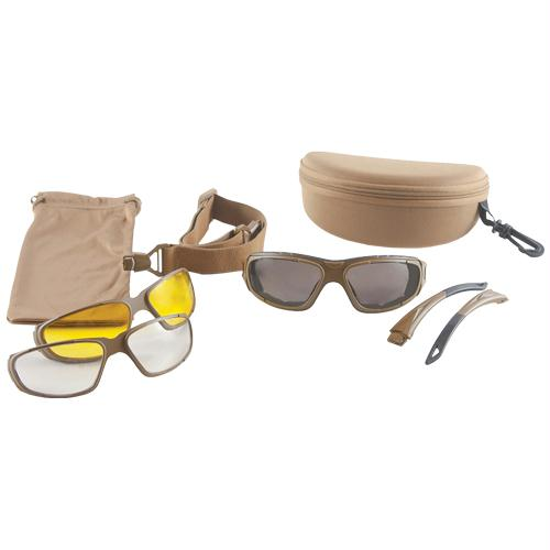 Shooter's Eywear Kit - Coyote