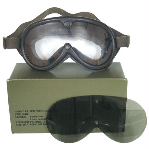 Sun, Dust & Wind Goggles - Black