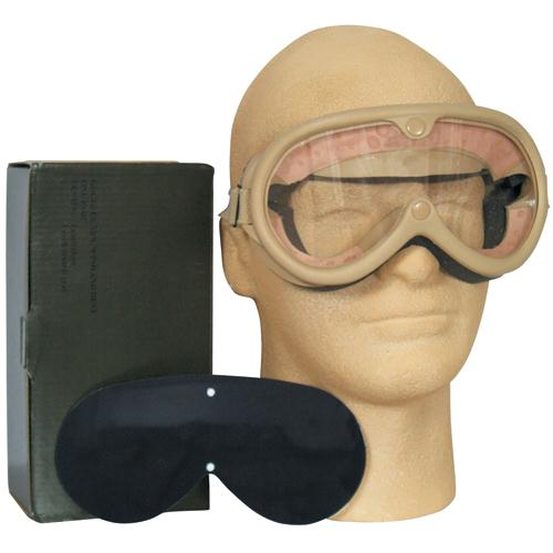 Sun, Dust & Wind Goggles - Desert Tan