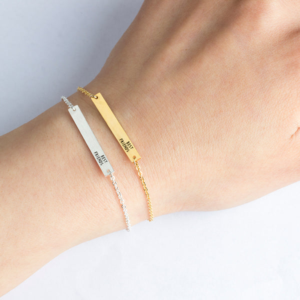 """Best Friends"" Bracelet 14Kt Gold Plated"