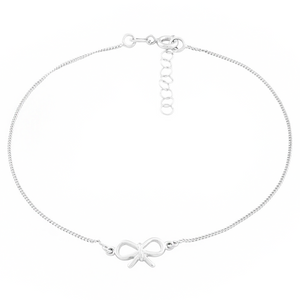 Dainty Bow Anklet