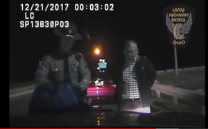 Cleveland Police Officer Arrested for DUI By State Trooper - Dashcam