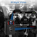 Load image into Gallery viewer, Boblov KJ21 High Definition Body Camera - Super Wide Angle with Auto Night Vision