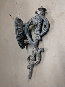 Antique Cast Aluminum Porch Lamp