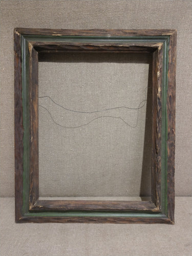 Vintage Hand-Carved Picture Frame