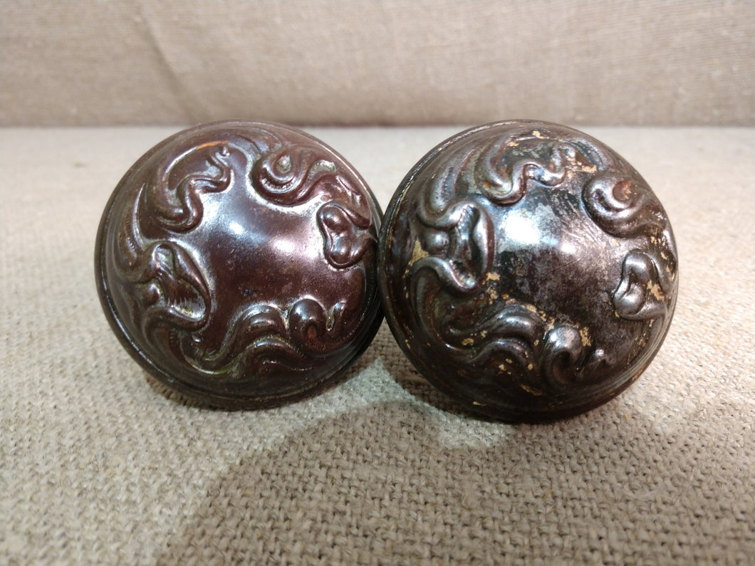 Antique Ornate Door Knob (pair)