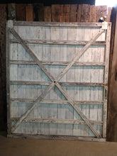 Reconstructed WPA Warehouse Doors