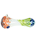Multi-Color Swirled Hand Pipe Spoon