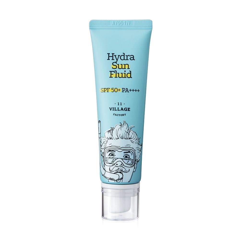 Village 11 Factory Hydra Sun Fluid SPF50+ PA+++ 50ml - Ginger Cosmetics