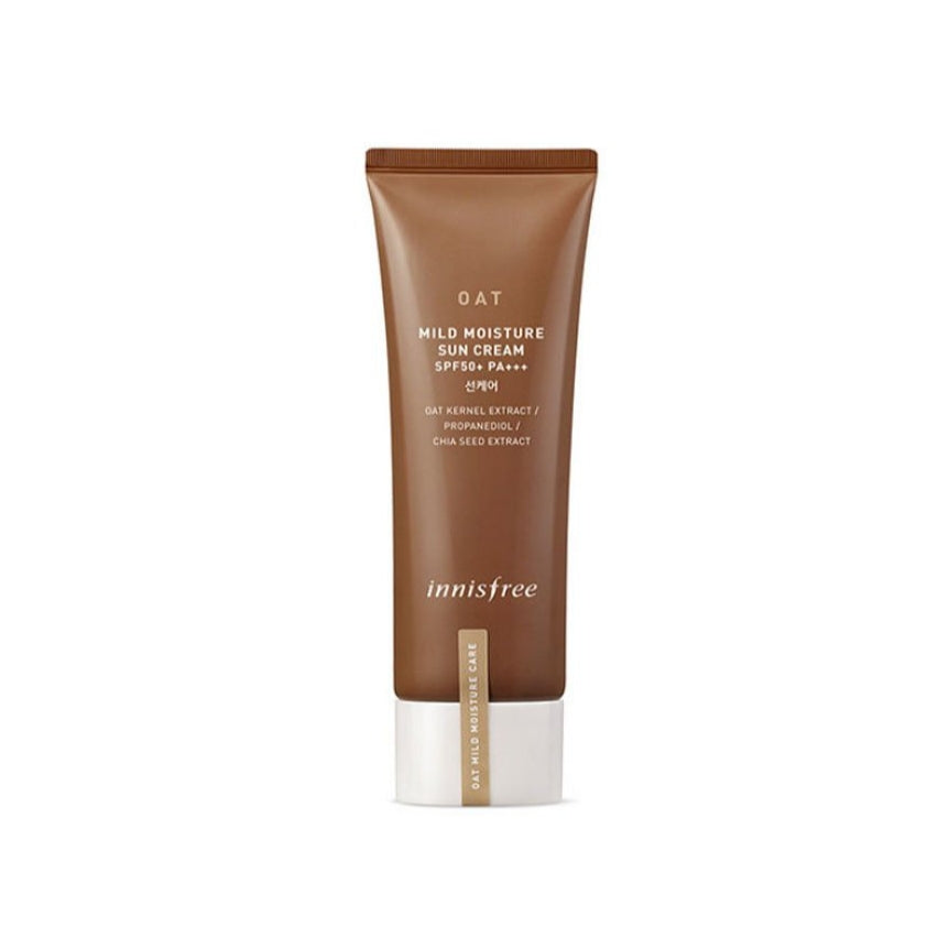 Innisfree Oat Mild Moisture Sun Cream (SPF50+ PA+++) 40ml - Ginger Cosmetics