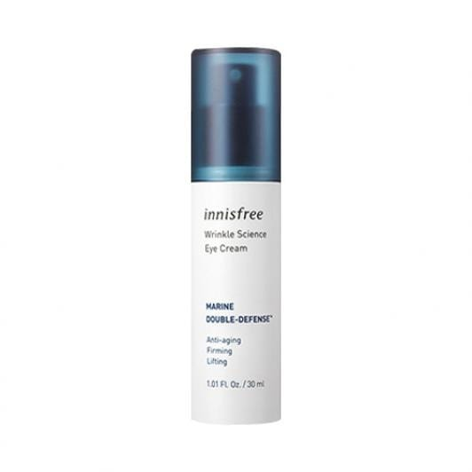 Innisfree Wrinkle Science Eye Cream 30ml - Ginger Cosmetics