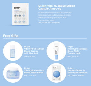 Dr. Jart+ Vital Hydra Solution Travel Kit (9 items) - Ginger Cosmetics