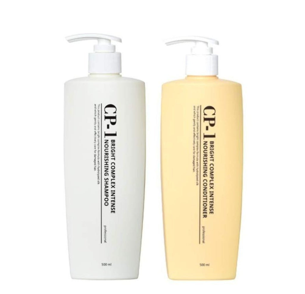 Esthetic House CP-1 Bright Complex Intense Nourishing Shampoo/Conditioner 500ml - Ginger Cosmetics