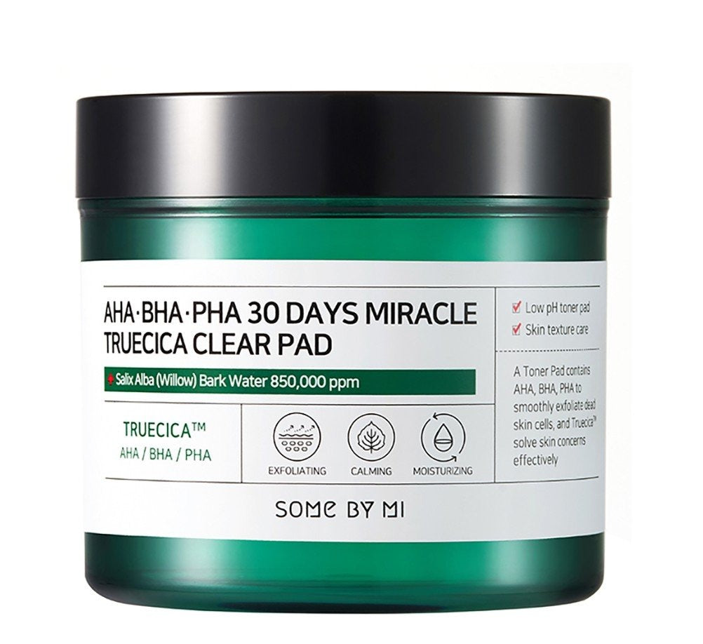 SOME By MI AHA BHA PHA 30 Days Miracle Truecica Clear Pad 70pcs - Ginger Cosmetics