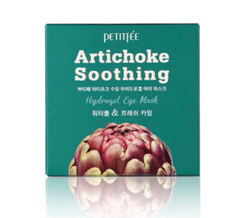 Petitfee Artichoke Soothing Hydrogel Eye Mask 84g (60pcs) - Ginger Cosmetics