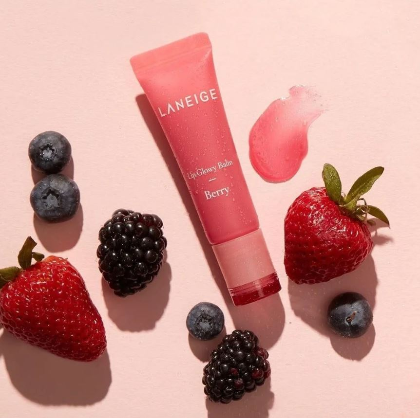 Laneige Lip Glowy Balm 10g (4 flavors) - Ginger Cosmetics